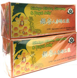 Ginkgo Biloba, Ginseng & Royal Jelly 2x10mlx30 Bottles New Sealed Free Shipping