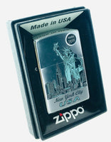 Zippo Lighter Genuine Zippo Lighter 250 Statue of Liberty NYC Made in USA