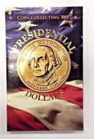 Presidential Dollars Coin Collecting kit include all presidential  introduction