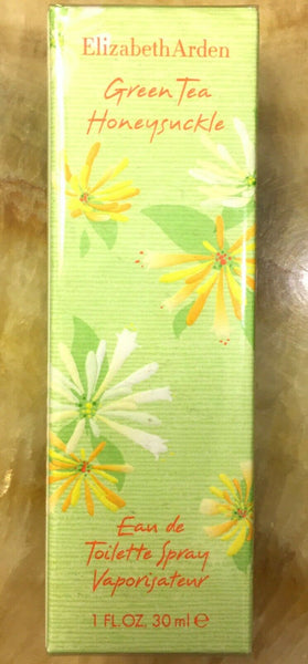 Green Tea for Women by Elizabeth Arden Honeysuckle Spray 1 oz New in Box Sealed