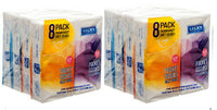 Lucky Pocket Tissue Soft 8 Pack Premium Quality (2-Pack) Disposable Soft Tissue