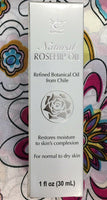 NCB Natural Rosehip Oil Refined Botanical Oil From Chile 30 ml Made in US 3 Pack