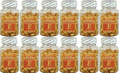 12 Nu-Health Royal Jelly & Vitamin E Skin Oil Moisture Complex 90 Capsules.