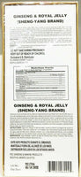 Ginseng Royal Jelly 10ml x 30 Bottles New Sealed 100% Natural 2 Pack Exp 05/2022