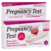 Sure-aid pregnancy test - Fast Result pregnancy test 1 Pack Easy to Read