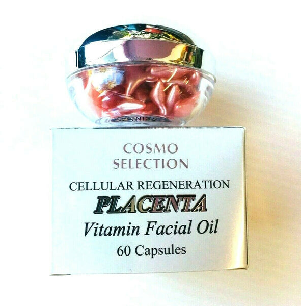 Cosmo Selection Cellular Regeneration Placenta Facial Oil 60 Capsules