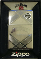 Zippo Jim Beam High Polish Windproof Lighter 24550 New in Box Made in USA