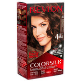REVLON COLORSILK BEAUTIFUL COLOR - MEDIUM GOLDEN CHESTNUT BROWN - 46