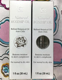 NCB Natural Rosehip Oil Refined Botanical Oil From Chile 30 ml Made in US 2 Pack