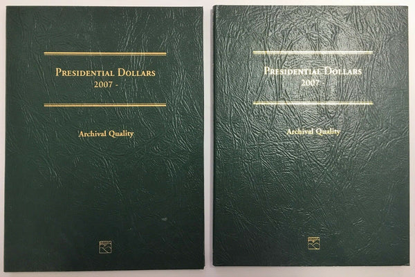 Presidential Dollar Folder by Littleton LCF35 2007-2016 pack of two.