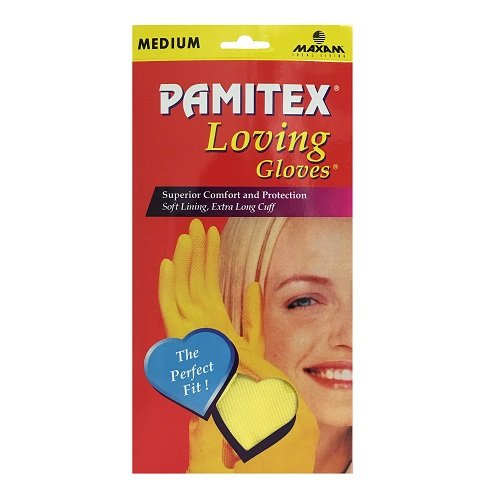 Wholesale Pamitex H-H Ylw Gloves Md Box