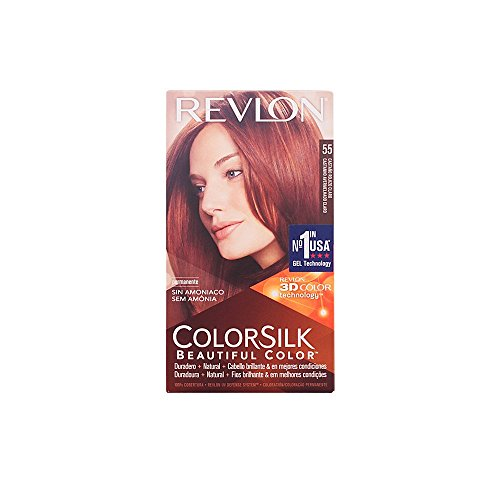 Revlon ColorSilk Hair Color 55 Light Reddish Brown 1 Each