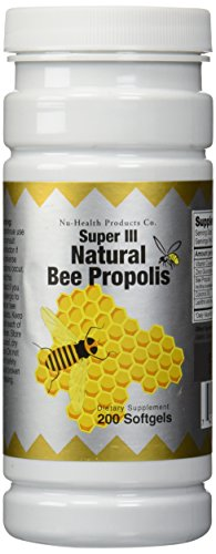 Natural Bee Propolis, 200 softgels