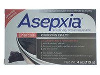 Asepxia Asepxia charcoal cleansing bar 4 ounce, 4 Ounce