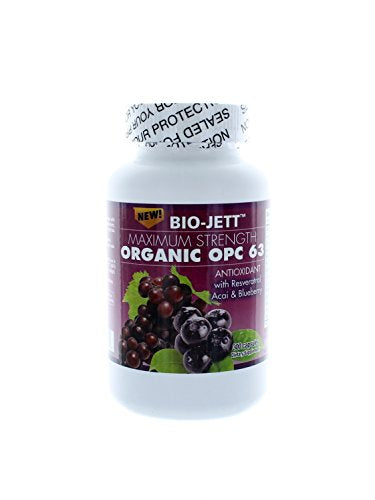 Bio-Jett Maximum Strength Organic OPC 63 300 Capsules