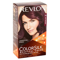 Colorsilk Permanent Haircolor - Deep Burgundy (34/3DB) (Quantity of 5)
