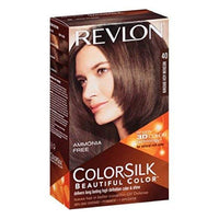 Revlon ColorSilk Hair Color 40 Medium Ash Brown 1 Each (Pack of 6)