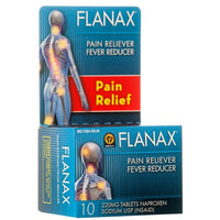 New 821876 Flanax Tablets 10Ct 220Mg Pain Reliever (12-Pack) Pharmacy Cheap Wholesale Discount Bulk Health And Beauty Pharmacy Pineapple