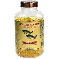 Omega 3 Alaska Deep Sea Fish Oil 1000mg 200 Softgels