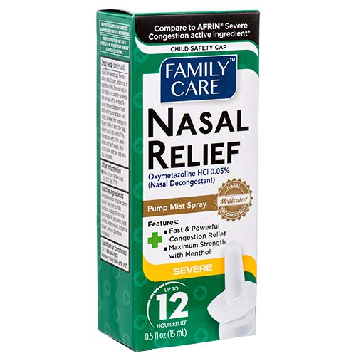 Family Care Nasal Spray Severe Congestion 0.5oz