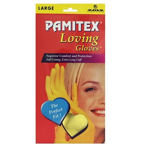 Wholesale Pamitex H-H Ylw Gloves Lg Box