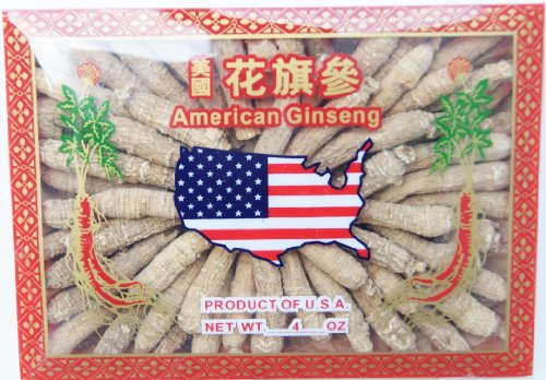 American Ginseng 134.4, Half Short Small #1 Cultivated American Roots 4oz