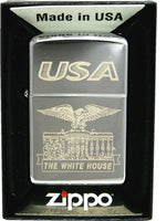 Zippo Lighter 250 White House Usa.