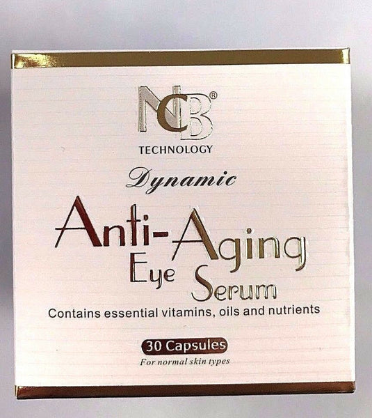 Anti-Aging Eye Serum Contains essential Vitamins oils and nutrients 30 Capsules