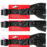 3 of NuValu Waist Bag With 3 Zipped Pockets Belt Bag & Fanny Pack