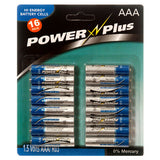 Powercell AAA Battery 1.5V 2PK 16Pcs AAA Batteries 32 Pieces Triple A Batteries