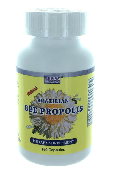 Brazillian Bee Propolis Extract 180 Softgels Dietary Softgels Made in Usa.