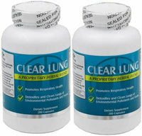 2 Pack Clear Lungs Extra Strength Clear Lungs - 200 Capsules