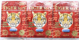 Male sexual performance enhancement by Tiger Max, Time+Size+Stamina 3 pack.
