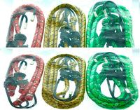 "12 Pc Bungee Cord Strap Heavy Duty Tarp Bungie Elastic Tie Down Set 12"" 18"" 24"""