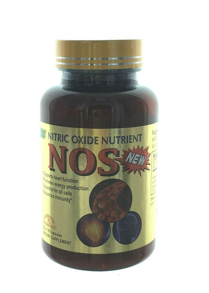Nitric Oxide Nutrient 120+10 Capsules Dietary Supplement Made in USA