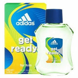 Adidas Get Ready Cologne by Adidas, 3.4 oz EDT Spray for Men NEW