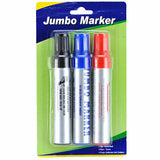 Marker 3Pc Set Jumb Permanent (1-Pack) X Others Cheap Wholesale Total 3 Pieces