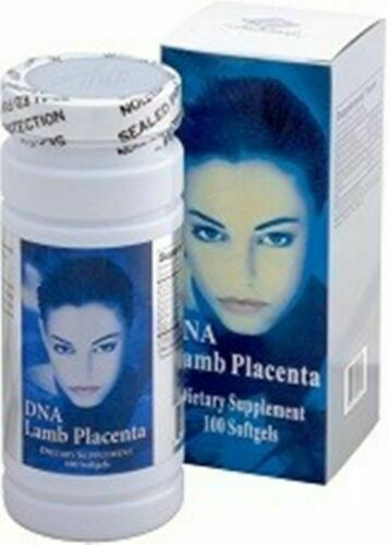 DNA Lamb Placenta (100 Softgels) collagen Made in USA Exp 12/31/2020 Sale