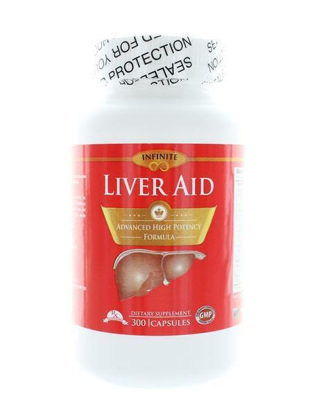 Infinite Liver Aid Advanced high potency Formula 300 Capsules Exp:12/2022  USA.