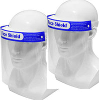2 Pc Safety Full Face Shield  Washable Protection Cover Face Mask Anti-Splash