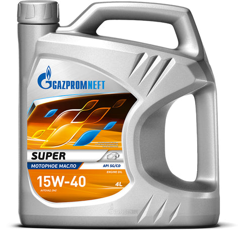 Gazpromneft Super 15W-40 4L