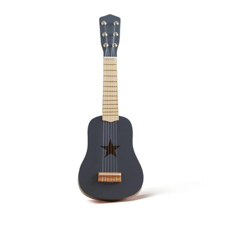 Guitare en bois dark grey