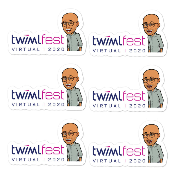 "TWIMLfest 2020 ""Sam"" Sticker Sheet"