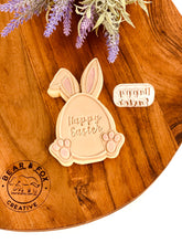 Load image into Gallery viewer, Egg Bunny raised stamp and cutter