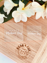 "Load image into Gallery viewer, ""Happy Mothers Day"" Raised Stamp"