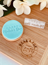"Load image into Gallery viewer, ""Happy Mother's Day"" impress stamp"