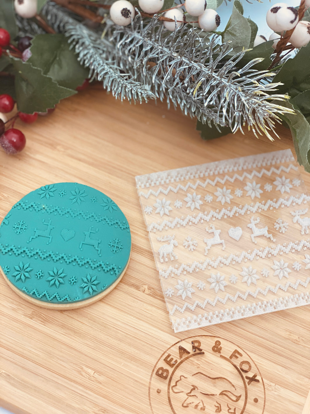 Ugly Sweater texture plate