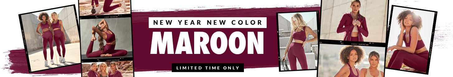 New Year New Color Maroon