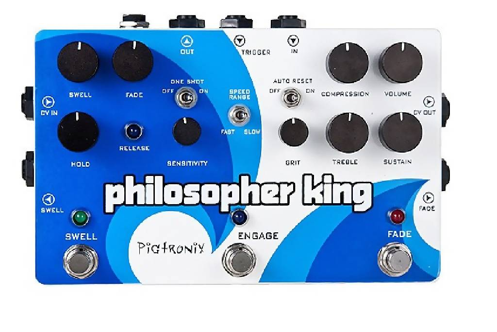 Pigtronix EGC Philosopher King Comp & Filter Guitar Pedal