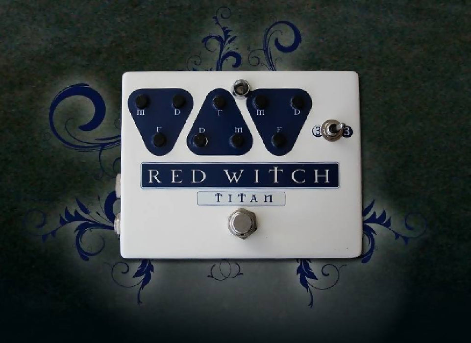 Red Witch Titan Analog Delay